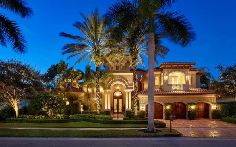 Villa Capri – A $4.195 Million Mediterranean Mansion In Palm Beach Gardens, FL