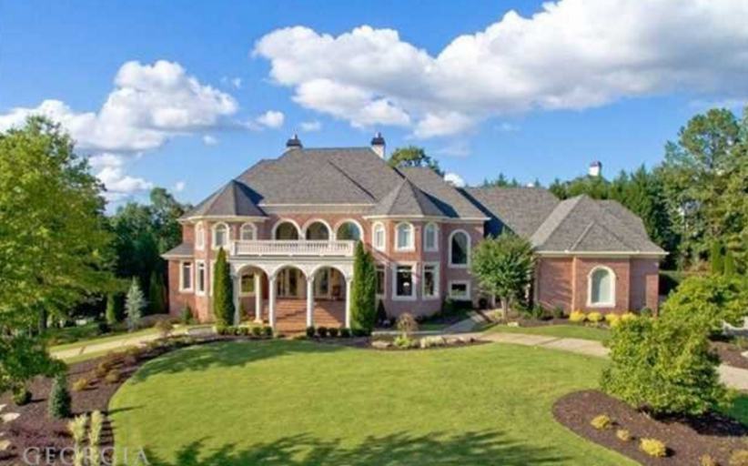 $2.995 Million Brick Mansion In Alpharetta, GA