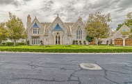 $4.6 Million Castle-Like Lakefront Stone Mansion In Las Vegas, NV