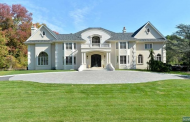 $2.995 Million Stone & Stucco Mansion In Saddle River, NJ