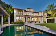 $7.995 Million Contemporary Waterfront Home In Bay Harbor Islands, FL