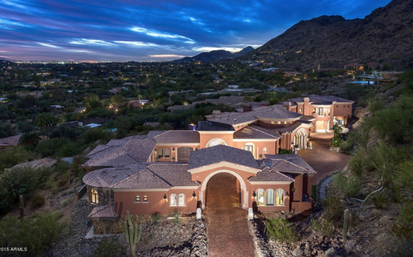 20,000 Square Foot Newly Built Spanish/Mediterranean Mansion In Paradise Valley, AZ
