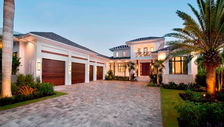 $9.595 Million Newly Built Mansion In Naples, FL