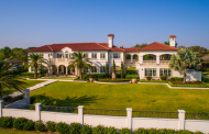 $6.5 Million Mediterranean Mansion In Corpus Christi, TX