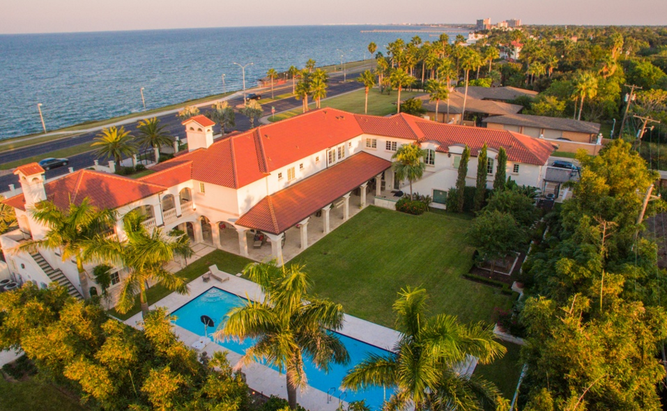6 5 Million Mediterranean Mansion In Corpus Christi Tx