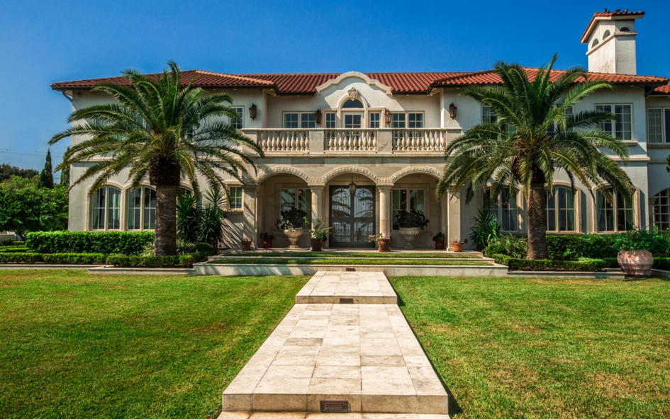 6 5 Million Mediterranean Mansion In Corpus Christi Tx Homes Of The Rich