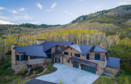 $8.595 Million Newly Built Mountaintop Contemporary Mansion In Park City, UT