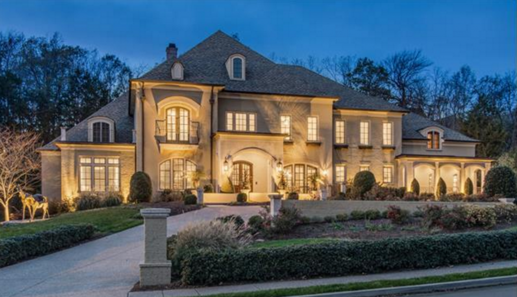 3 395 Million Mansion In Franklin Tn Homes Of The Rich