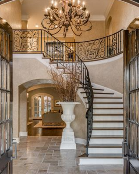 21 Staircase Decorating Ideas: $3.395 Million Mansion In Franklin, TN
