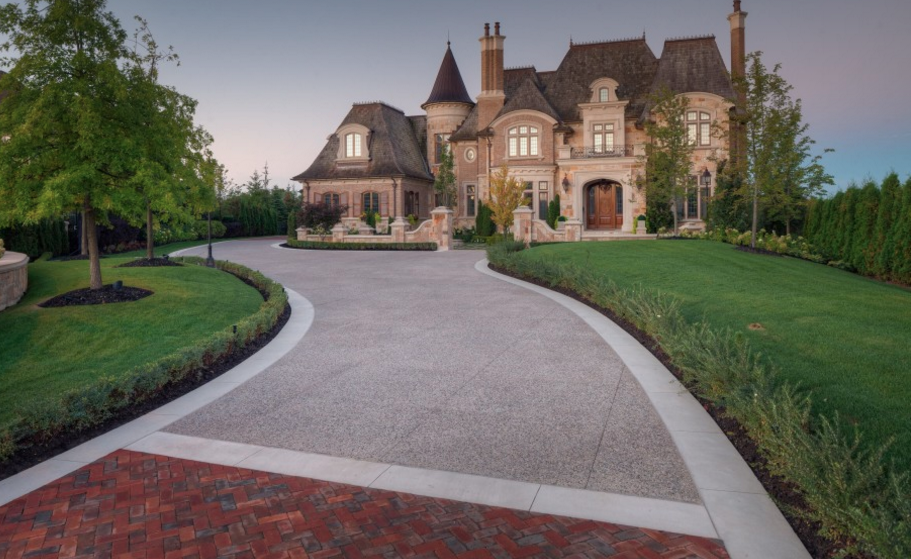 15,000 Square Foot Newly Built European Inspired Stone Mansion In Ontario, Canada