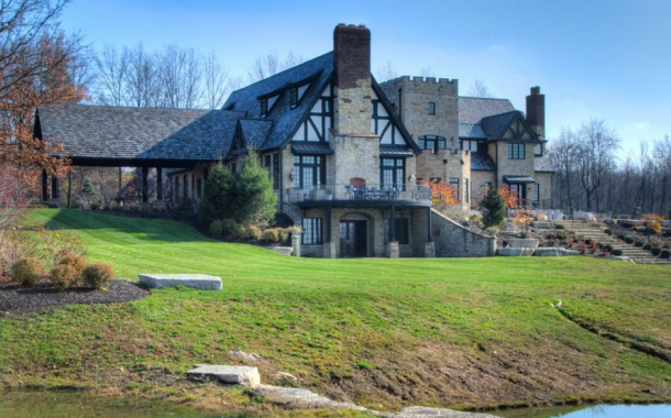 Rose Hill Manor – An 11,000 Square Foot English Country Mansion In Chagrin Falls, OH
