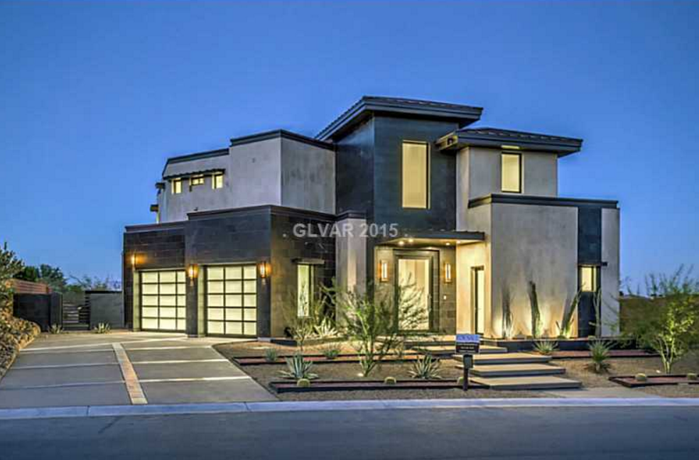 $2.6 Million Newly Built Contemporary Home In Las Vegas, NV