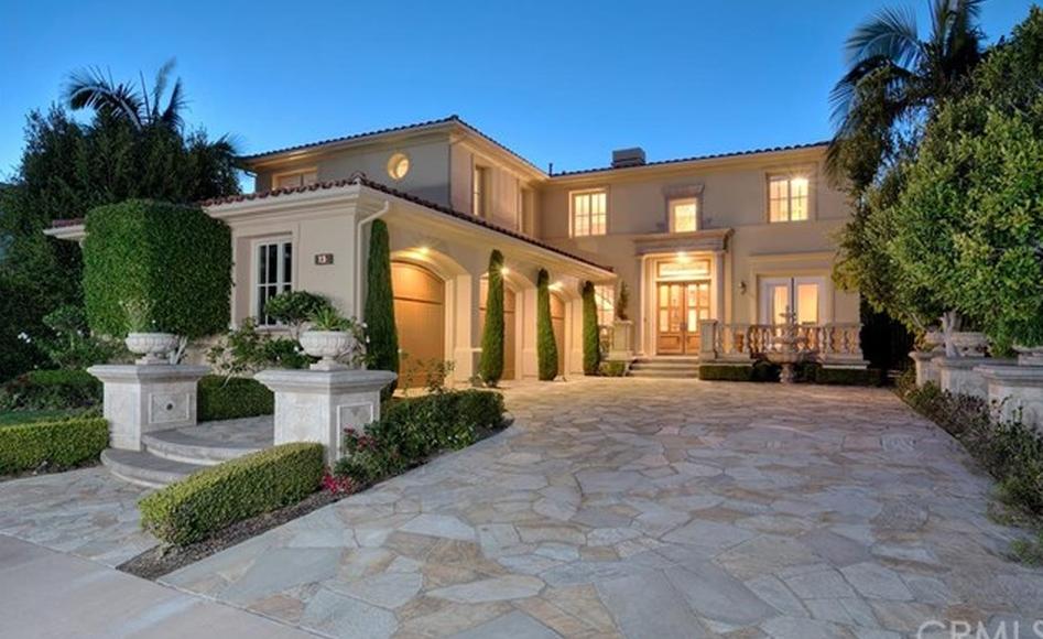 $5.295 Million Mediterranean Home In Newport Beach, CA