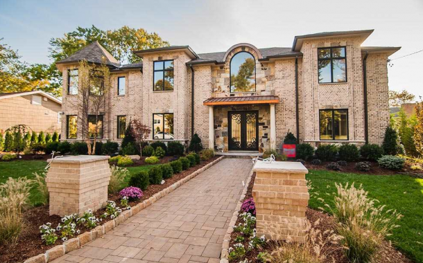 $3.249 Million Newly Built Brick Mansion In Englewood Cliffs, NJ