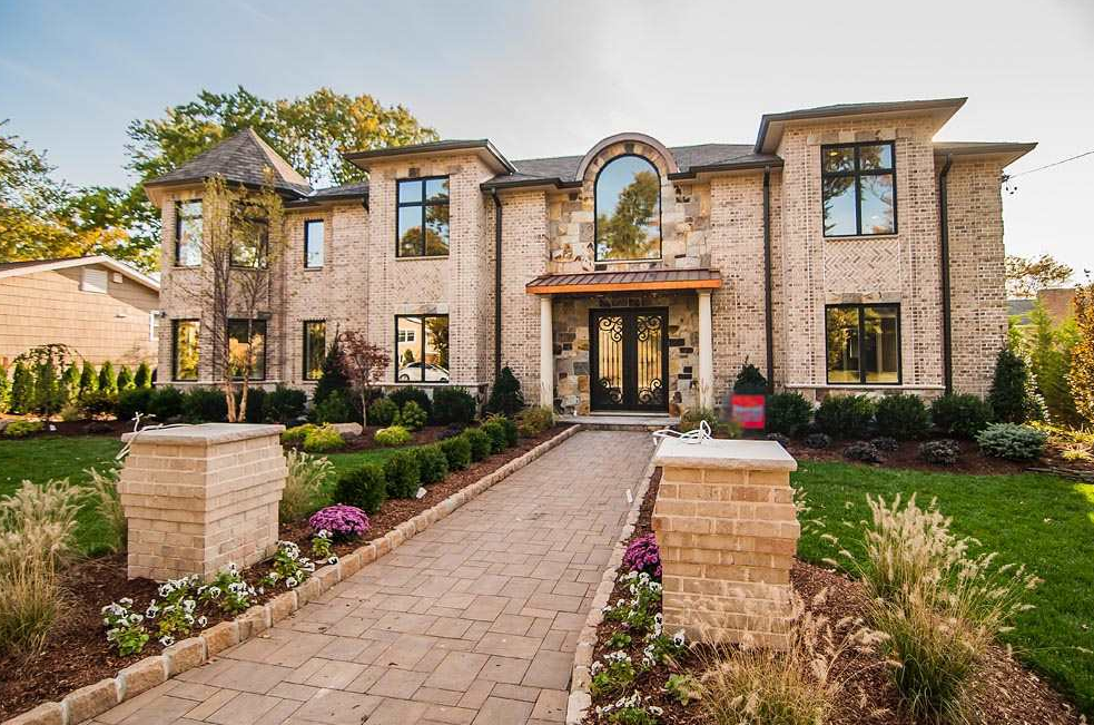 3 249 Million Newly Built Brick Mansion In Englewood