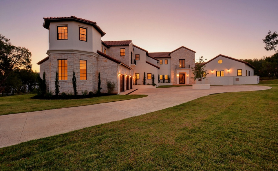 $2.475 Million Newly Built Mediterranean Mansion In Austin, TX