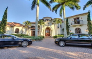 $4.5 Million Mediterranean Home In Naples, FL Comes With An Aston Martin & A Bentley!