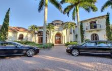 $4.5 Million Mediterranean Home In Naples, FL Comes With An Aston Martin & A Bentley!