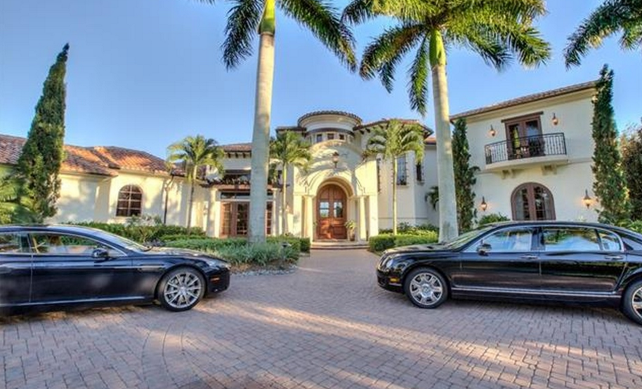 4 5 Million Mediterranean Home In Naples Fl Comes With