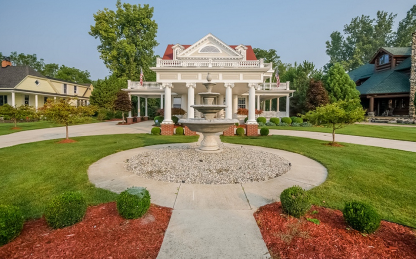 $2.2 Million Historic Lakefront Home In Clay Township, MI