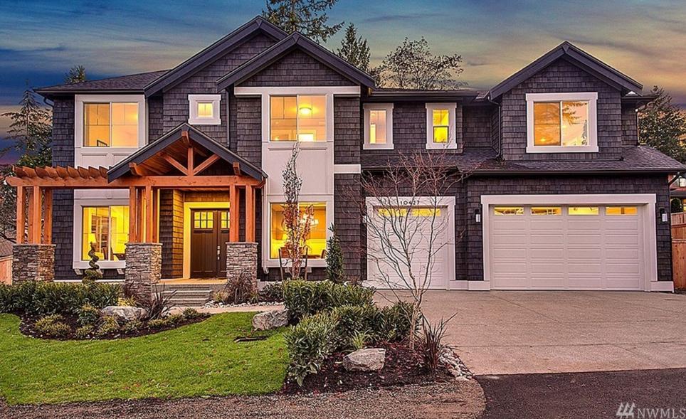 24 million newly built craftsman home in bellevue wa - Craftsman Home 2015