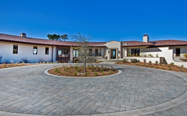 $22 Million Newly Built Mansion In Pebble Beach, CA