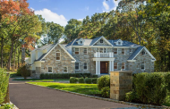 $4.95 Million Newly Built Stone Home In Brookville, NY