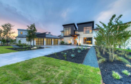$2.35 Million Newly Built Contemporary Home In Austin, TX
