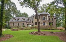 $1.595 Million Newly Built Brick Mansion In Sandy Springs, GA