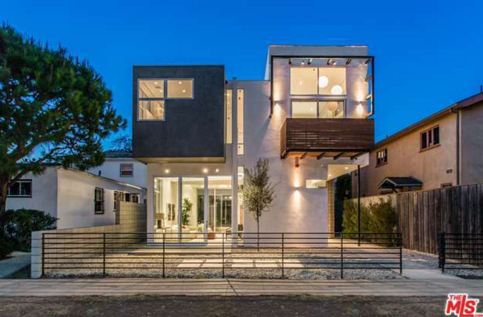 $4.778 Million Newly Built Contemporary Home In Venice, CA