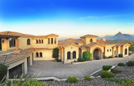 $3.4 Million Spanish Hacienda Style Mountaintop Home In Fountain Hills, AZ