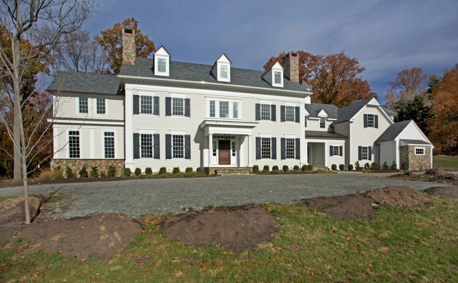 $3.395 Million Newly Built Colonial Home In Bernardsville, NJ