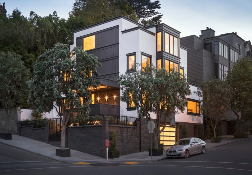 $12 Million Newly Built Contemporary Home In San Francisco, CA