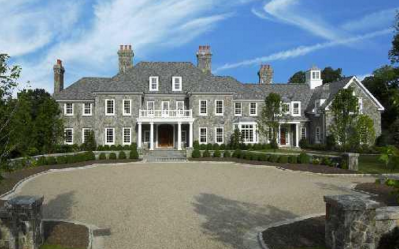 $14.25 Million 15,000 Square Foot Georgian Stone Mansion In Greenwich, CT