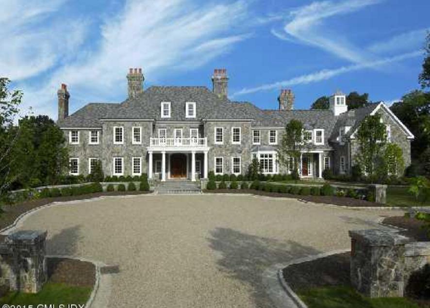 14 25 Million 15 000 Square Foot Georgian Stone Mansion