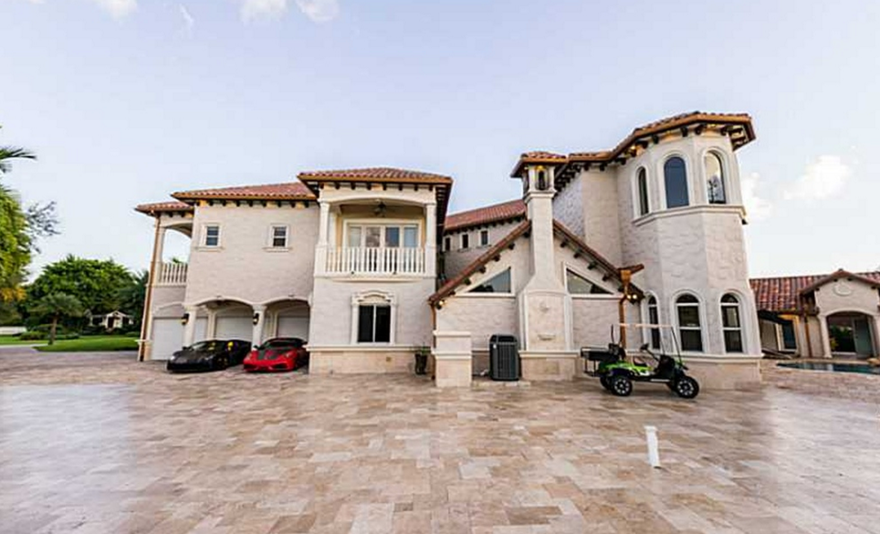 11,000 Square Foot Stately Mansion In Davie, FL | Homes of