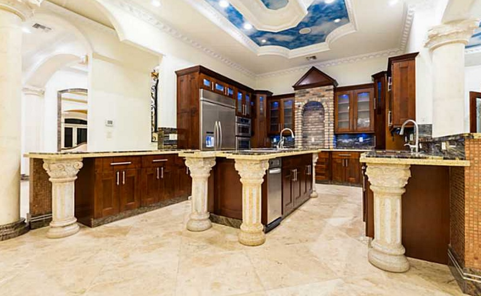 11 000 square foot stately mansion in davie fl homes of the rich