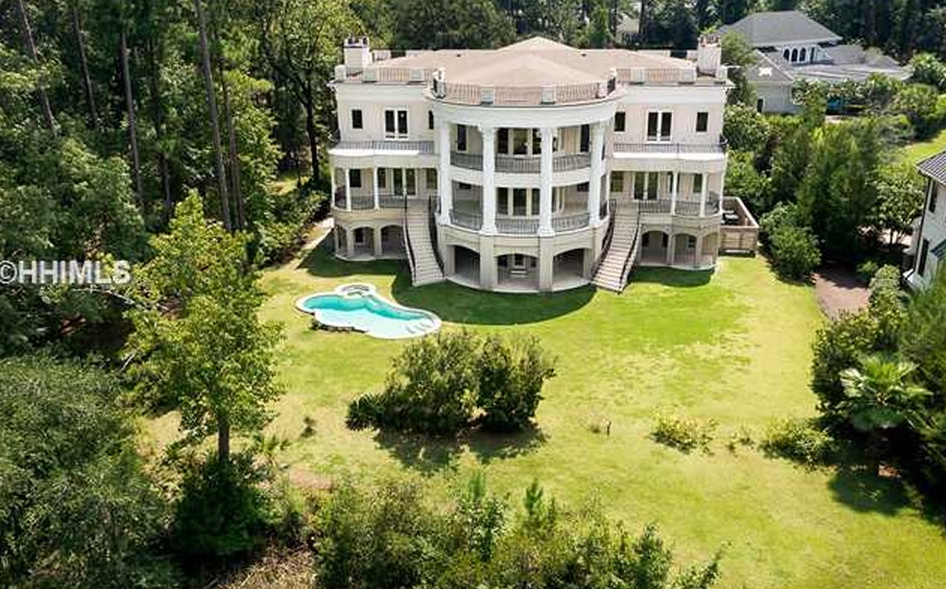 12 000 Square Foot Riverfront Mansion In Bluffton Sc