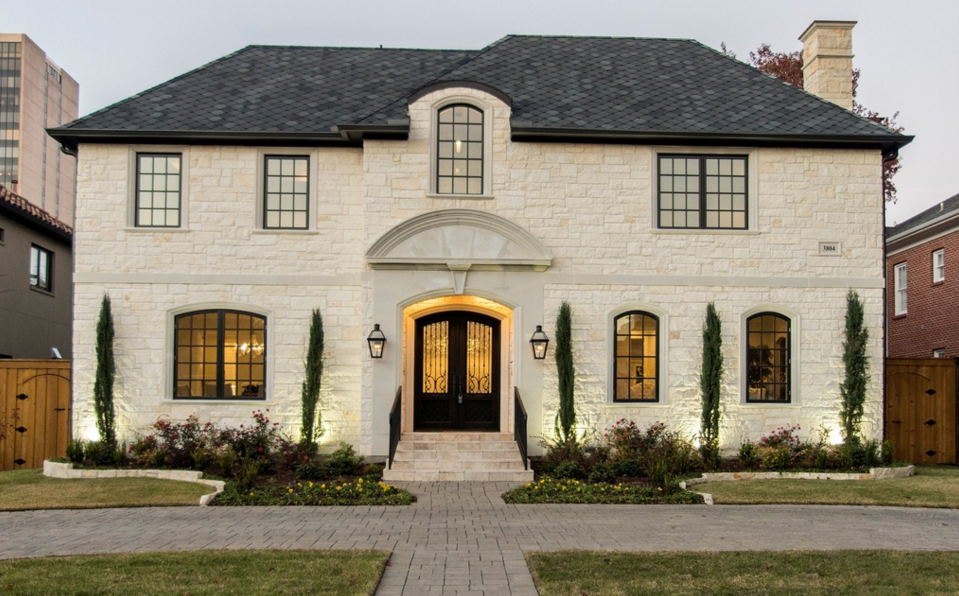 $2.675 Million Newly Built Stone Home In Dallas, TX