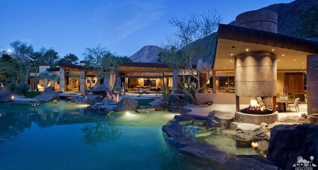 $8.95 Million Contemporary Mansion In Indian Wells, CA