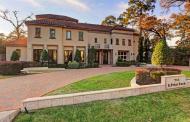11,000 Square Foot Mediterranean Mansion In Houston, TX