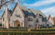 12,000 Square Foot Castle-Like Stone Mansion In Southlake, TX