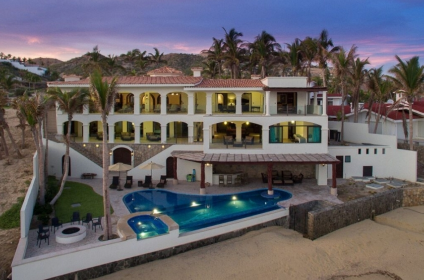 Casa del Mar – An Oceanfront Mansion In San Jose Del Cabo, Mexico