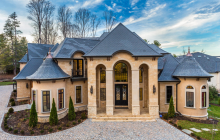 Beautiful Stone & Stucco Mansion By James McDonald Associate Architects