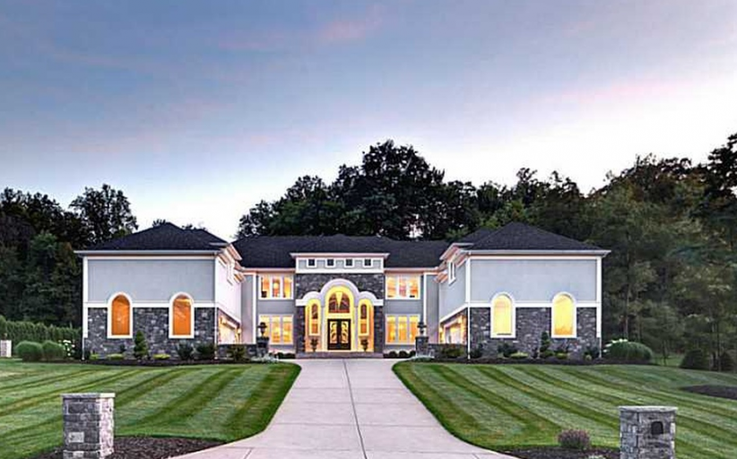 Stone & Stucco Mansion In Latrobe, PA For Just $1.2 Million