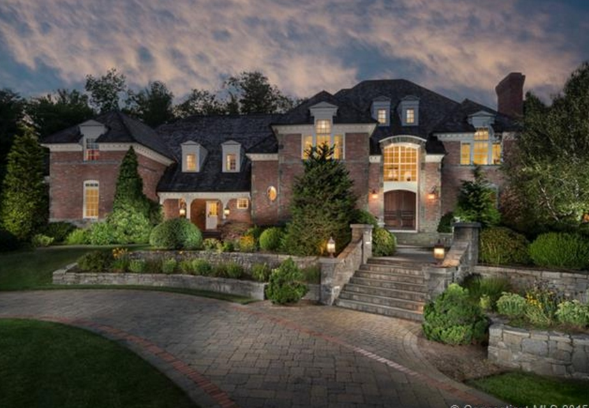 13,000 Square Foot Brick Mansion In Farmington, CT