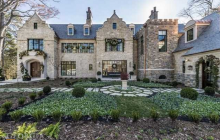 $5.75 Million Newly Built Tudor Stone Mansion In Atlanta, GA