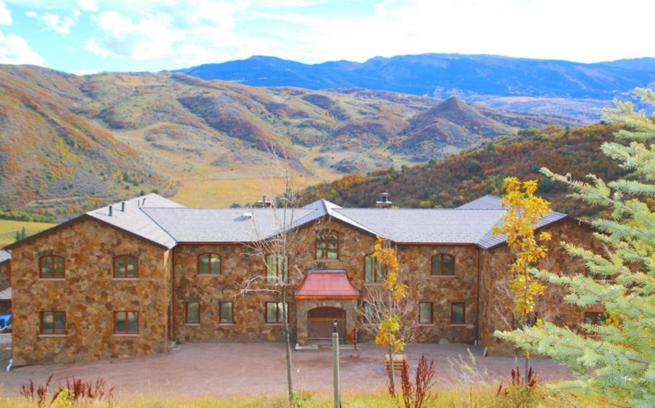 $14.4 Million Newly Built Mountaintop Stone Mansion In Snowmass Village, CO
