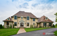 $2.3 Million Newly Built European Inspired Stone & Stucco Home In North Barrington, IL