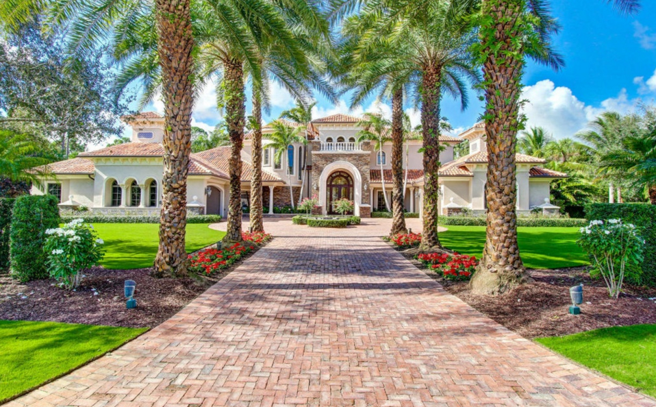 5 3 million mediterranean mansion in palm beach gardens - New restaurants in palm beach gardens ...